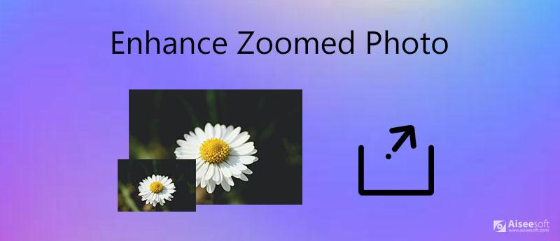 Vylepšete zvětšenou fotografii