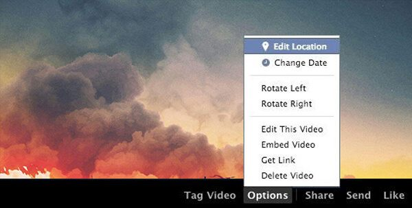 How to rotate video on facebook rotate a video on facebook ccuart Choice Image