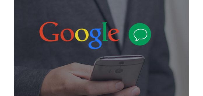 Textové zprávy Google