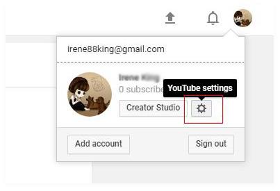 Λογαριασμός YouTube