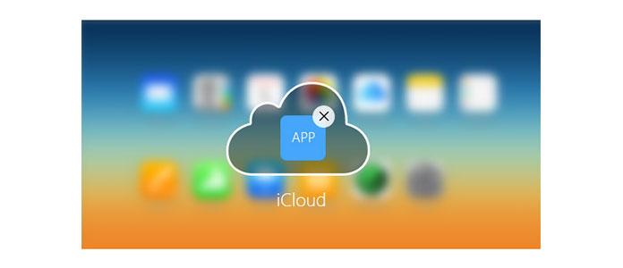 Come eliminare le app da iCloud