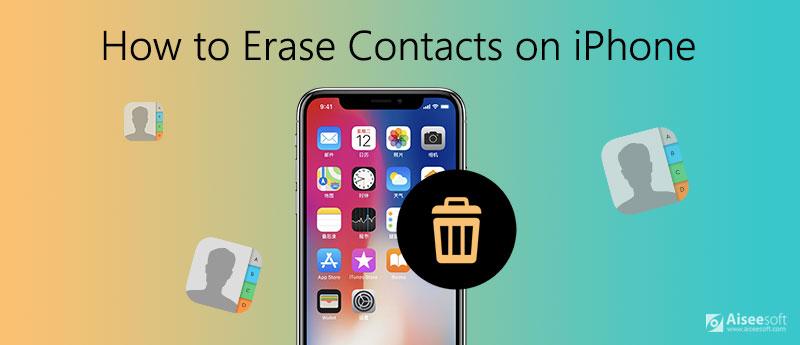 Jak usunąć kontakty na iPhonie