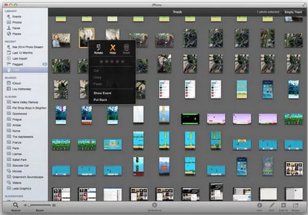 How to Recover Deleted Photos from iPhoto on Mac