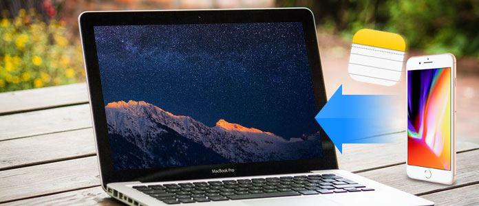 Jak przenieść notatki z iPhone'a na Maca