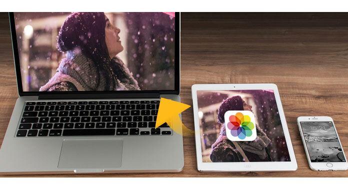 如何將照片從iPad傳輸到計算機