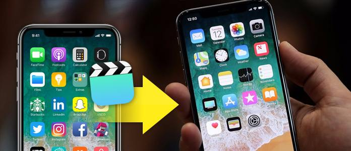 Trasferisci video da iPhone a iPhone