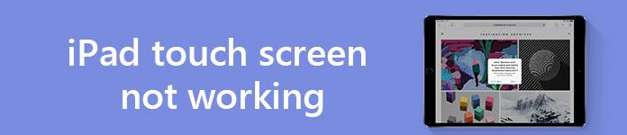 Touchscreen iPad non funzionante