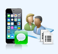 backup iPhone SMS and Contacts