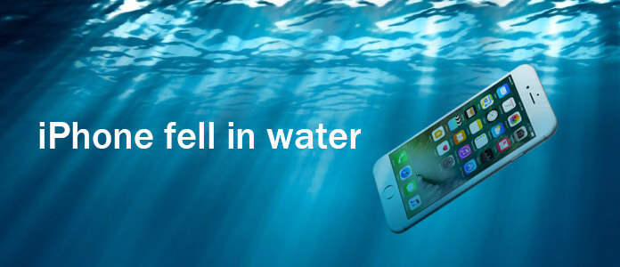 iPhone caduto in acqua