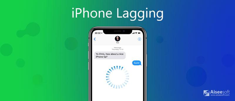 Zpoždění iPhone