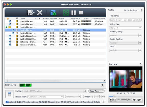 Media iPod Video Converter for Mac