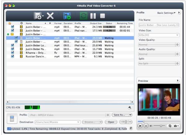 Media iPod Video Converter per Mac
