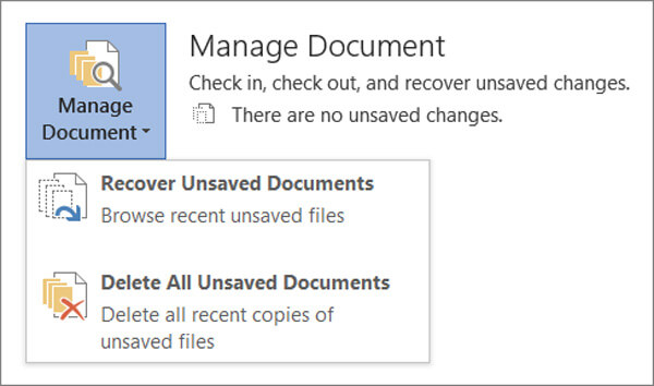 Manage Document
