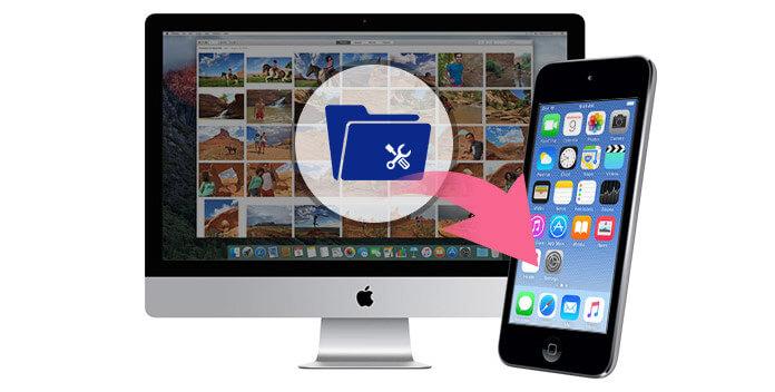 Gestisci file ipod su Mac