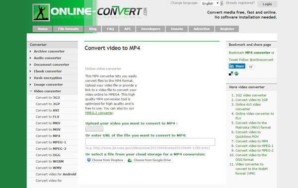 Online μετατροπέας ARF σε MP4