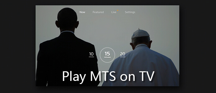 Converti MTS per giocare in TV