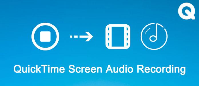 Registrazione audio schermo QuickTime