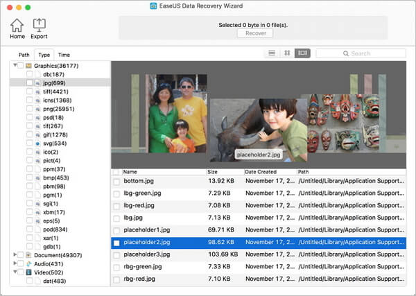 Recover Deleted Photos on Mac with Mac Data Recovery
