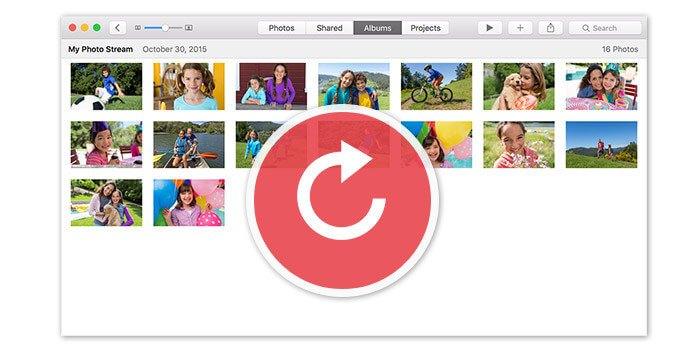 Ανάκτηση φωτογραφιών από το iCloud Photo Stream