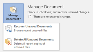 How to Recover Unsaved Word Document 2003/2007/2010/2013/2016