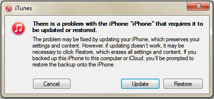 Επαναφορά iPhone