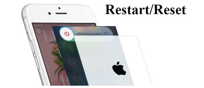Uruchom ponownie Zresetuj iPhone'a