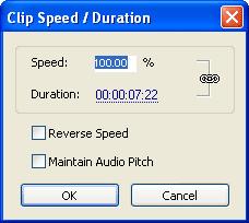 Adobe Premiere Slow Motion Speed / Διάρκεια