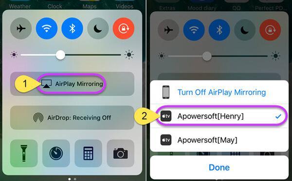 Trasmetti iPhone su PC tramite Apower