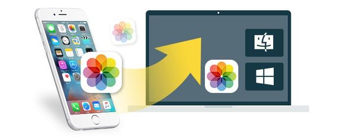 Trasferisci foto da iPhone a Computer Mac