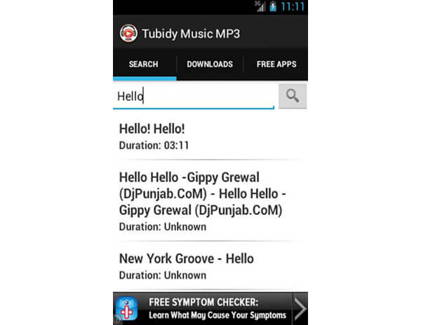 Download musicale Tubidy MP3
