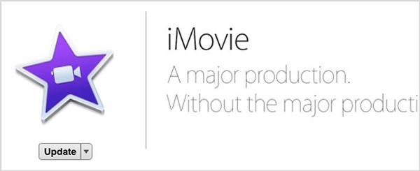 Aggiorna la versione di iMovie