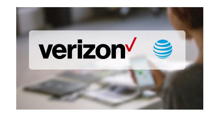 Zprávy Verizon / AT & T / WhatsApp
