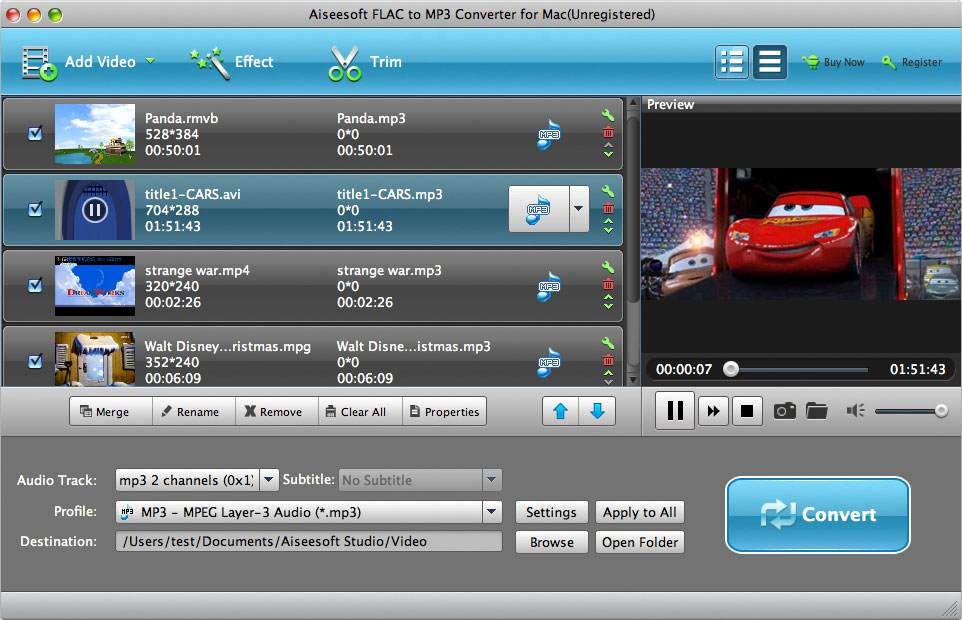mp3 converter for mac: