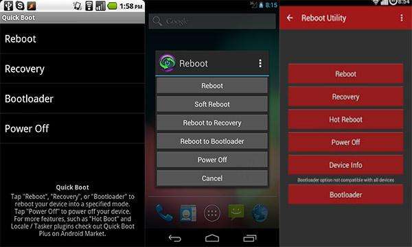 App di riavvio Android