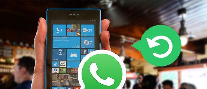 Obnovte WhatsApp Chat