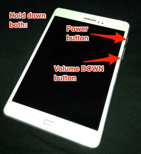 Riavvia il telefono Android