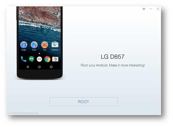 Root συσκευές Android με το Kingo Root
