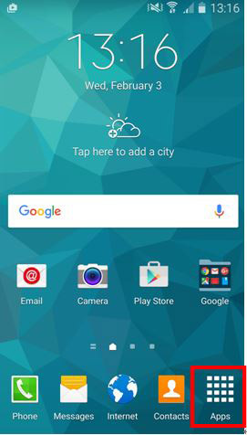 Samsung Home Apps