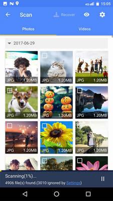 Scansione di foto e video