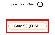 Επιλέξτε Gear