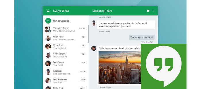 How to Send a Hangouts Message & Hangouts Message Recovery