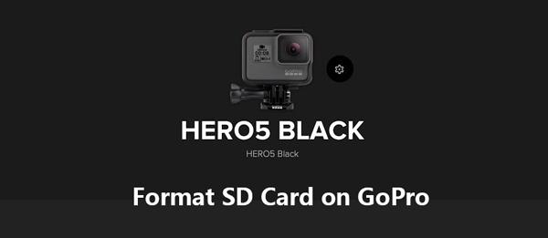 Μορφοποίηση κάρτας SD στην κάμερα