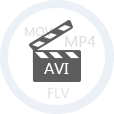 Play files in AVI and other video formats