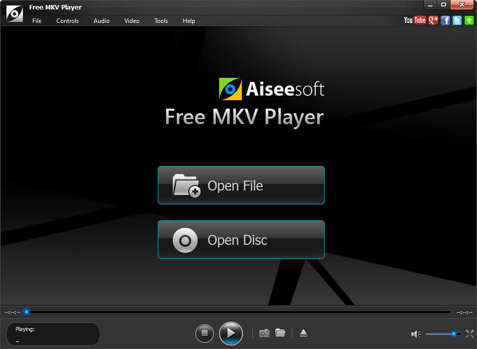 Play MKV files (HD, 4K and 3D included)