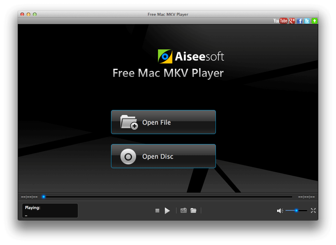 Play MKV on mac free media player.