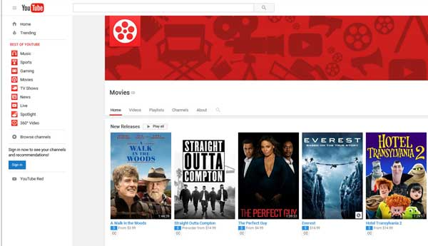 Youtube watch movies online free full movie