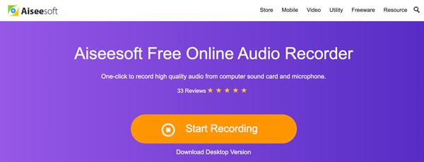 Online audio záznam zdarma