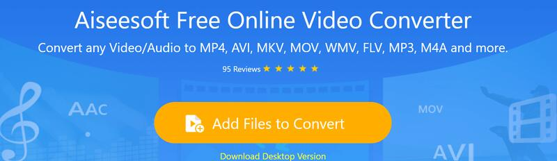 Aiseesoft Convertitore video online gratuito