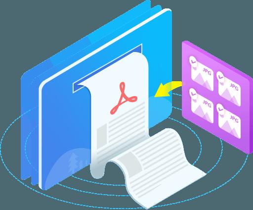 Конвертировать JPG в PDF