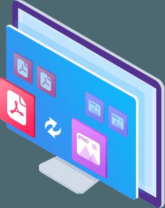 Konverter PDF til PNG og omvendt